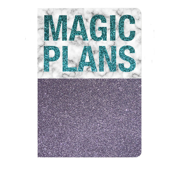 Magic Plans Notebook