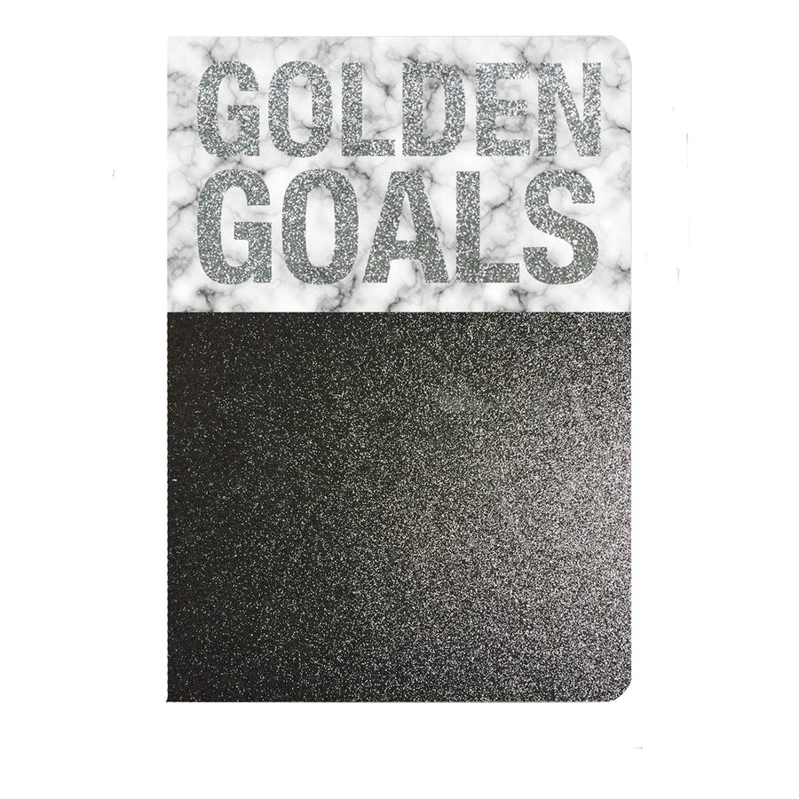 Golden Goals Notebook - The Cool Company