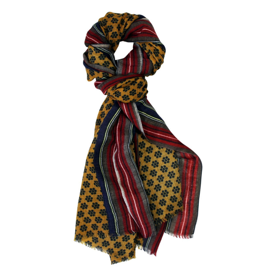 Paul Mustard Scarf - Le Secret des Eléphants