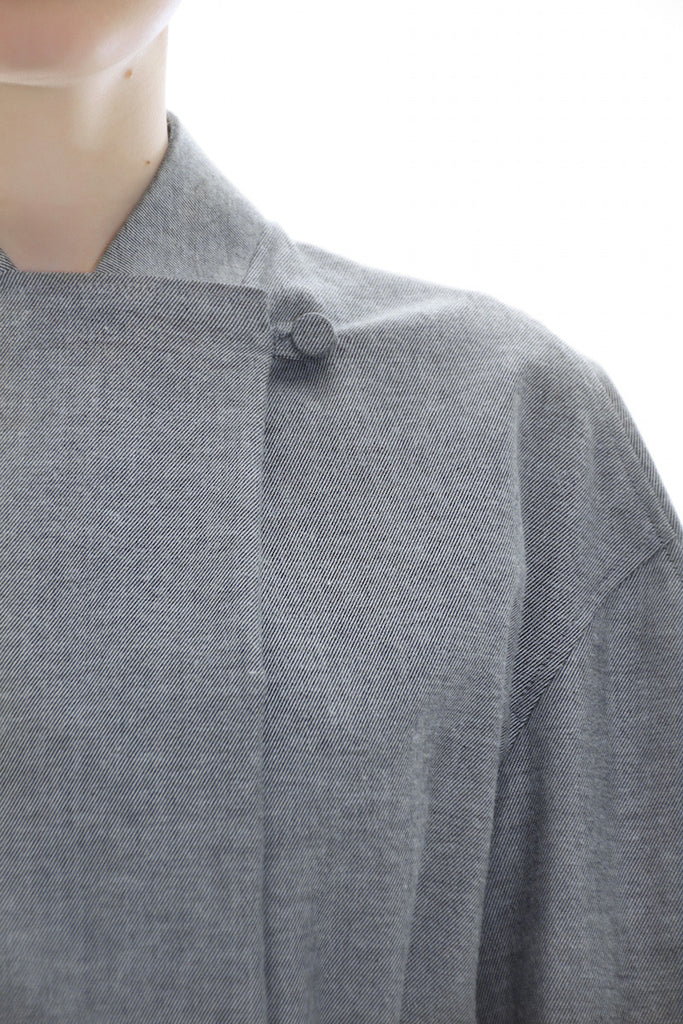 Grey Asymmetrical Jacket - Lea Peckre