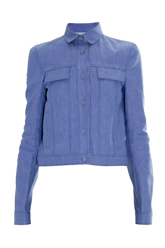 Cropped denim jacket - Lea Peckre