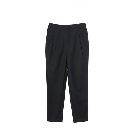 Women Tuxedo Wool Navy Pants Clarisse Sunday Life