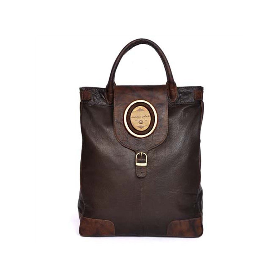 Men's Brown Tote in Buffalo Leather Aldo - Monsieur Charli