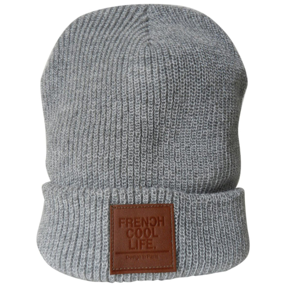 Frenchcool Life Beanie grey - Frenchcool