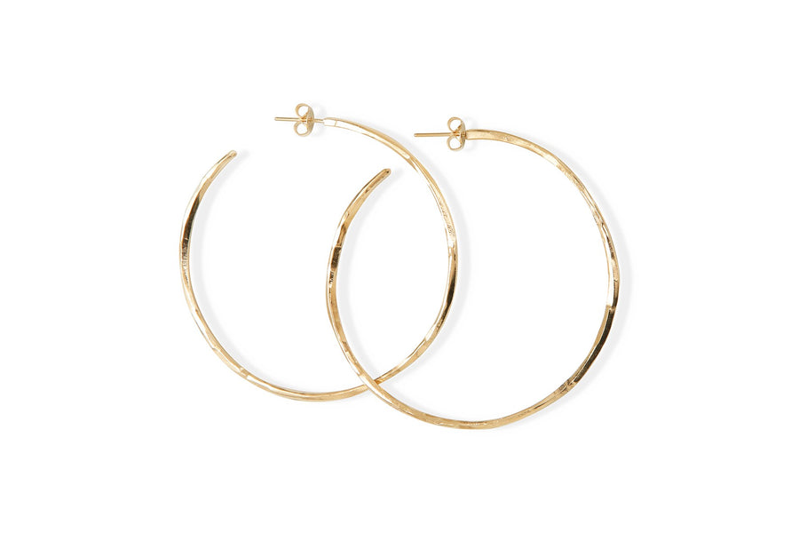 Small Hoop Earrings Brindille by Marion Fillancq