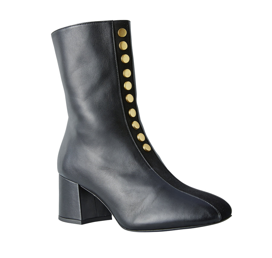 Black fitted boots Model #8 by NaRae Paris