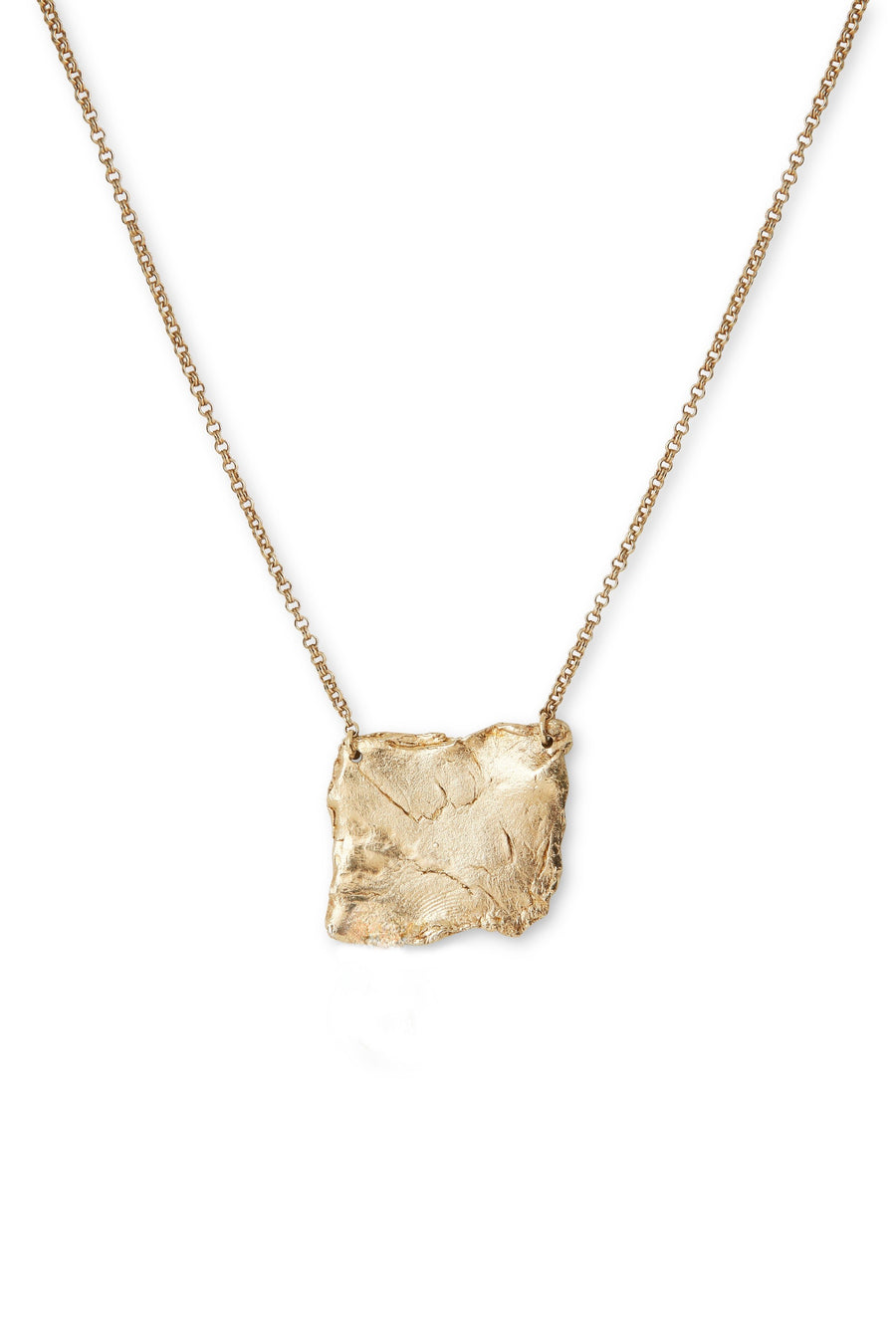 Gold Plated Fragment Necklace by Marion Fillancq