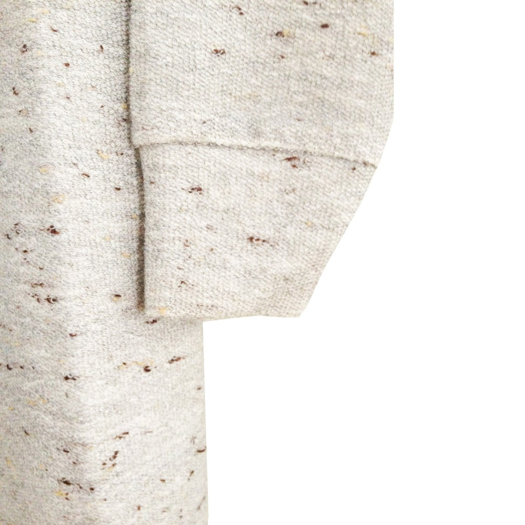 Dress beige cotton sweatshirt mottled Emma by Ultra Tee - Ultra Tee