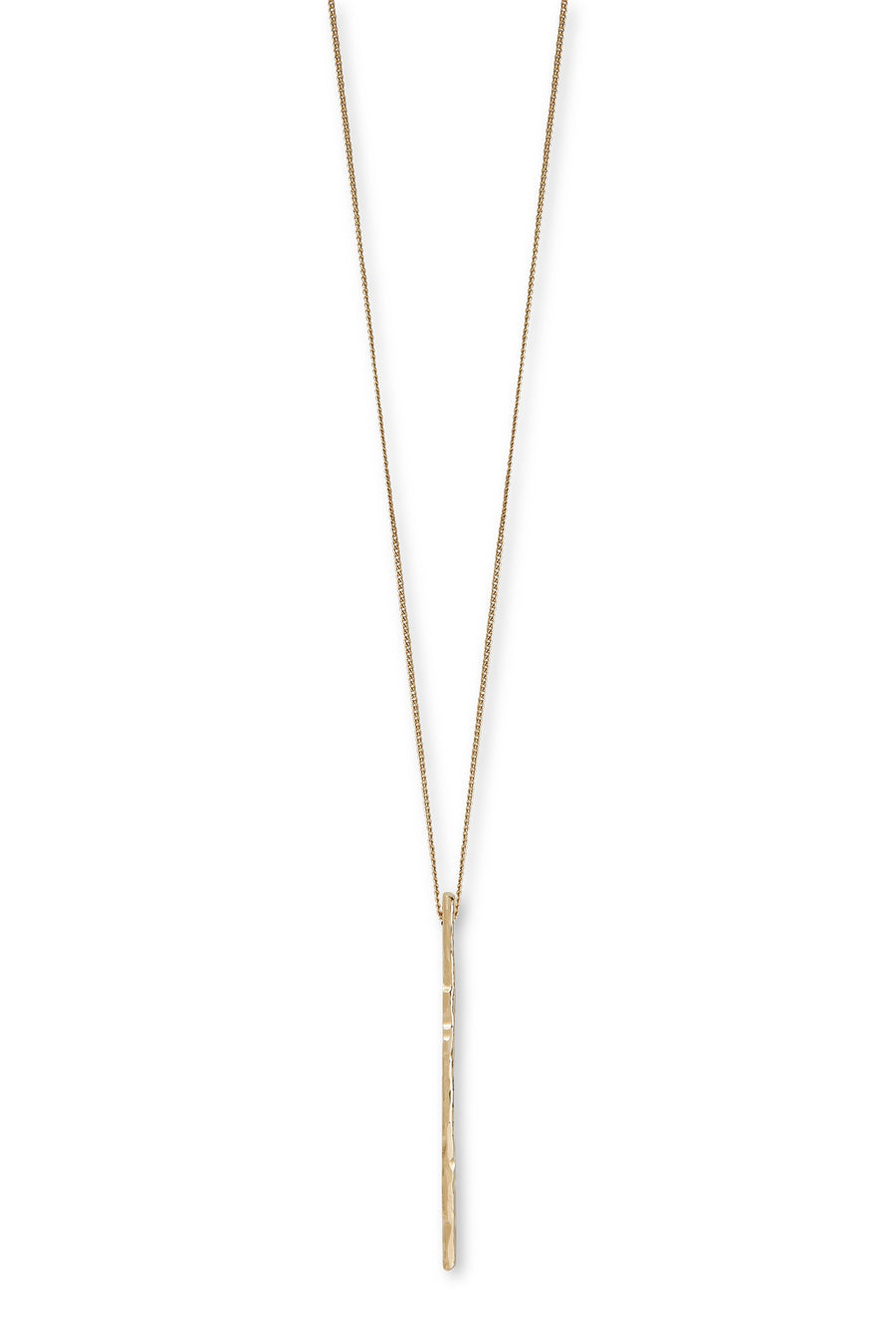 Long Necklace Gold Brindille by Marion Fillancq