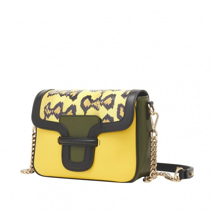 Shop yellow handbag Gordana Dimitrijevic
