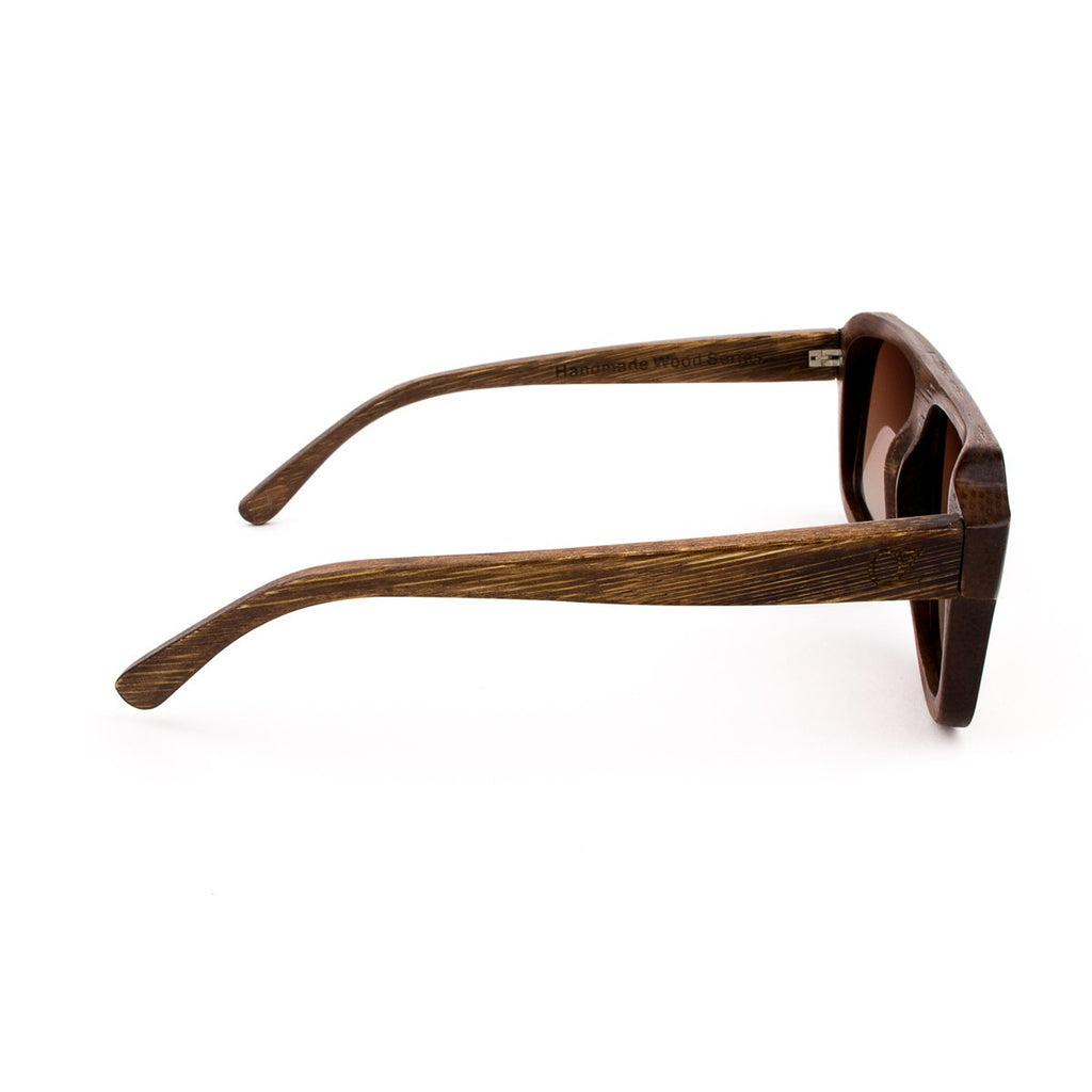 Wooden sunglasses Mc Fly - Ozed.