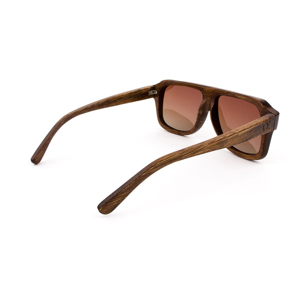 Wooden sunglasses Mc Fly Ozed