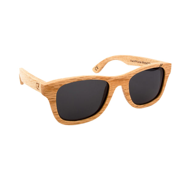 Wooden sunglasses Full Birch - Ozed.