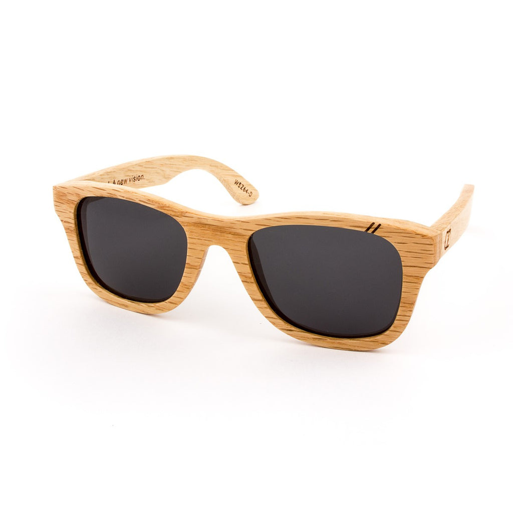 Wooden Sunglasses Bamboo Gold Mirrow Full Birch Ozed - Ozed.