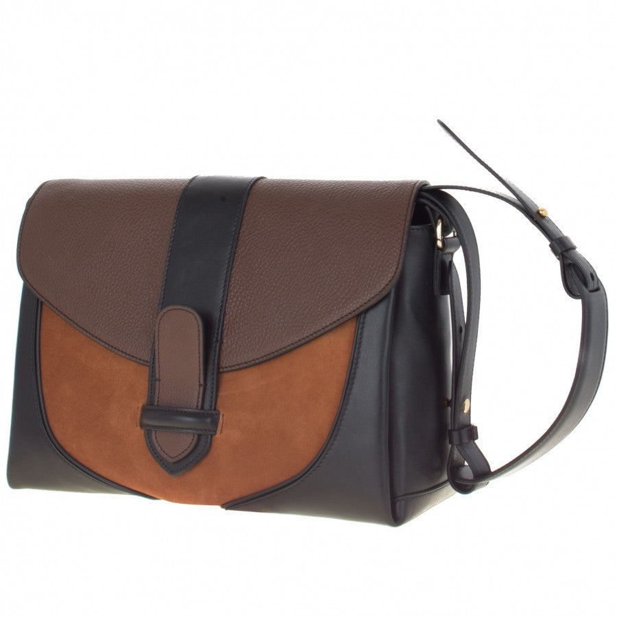 Women's brown leather handbag Daniel by Gordana Dimitrijevic