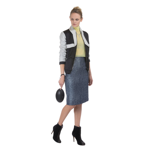 Wool bomber jacket - Constance Boutet