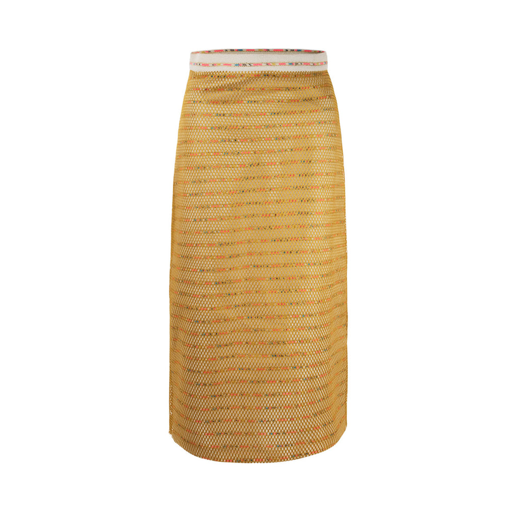 Marrakech Tweed Pencil Skirt - Floriane Fosso