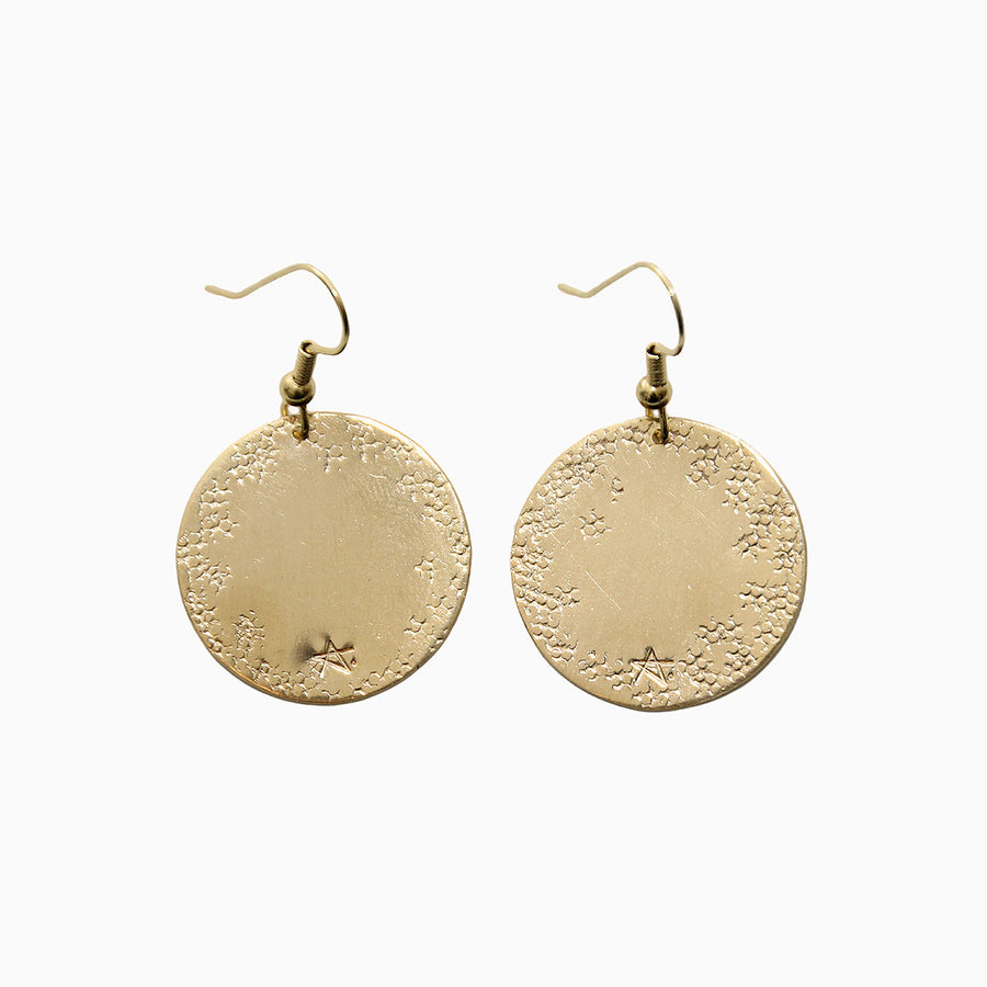 Handmade Gold Earrings Pastilles Alice Hubert - Alice Hubert