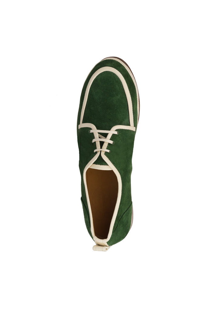 Women Men Green Derby Mitch Jour Ferie Paris - Jour Ferie Paris