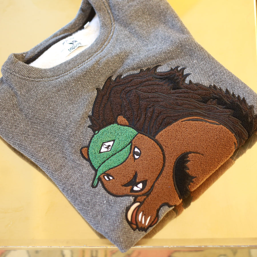 SQUIRREL SWEATER - DARK GREY