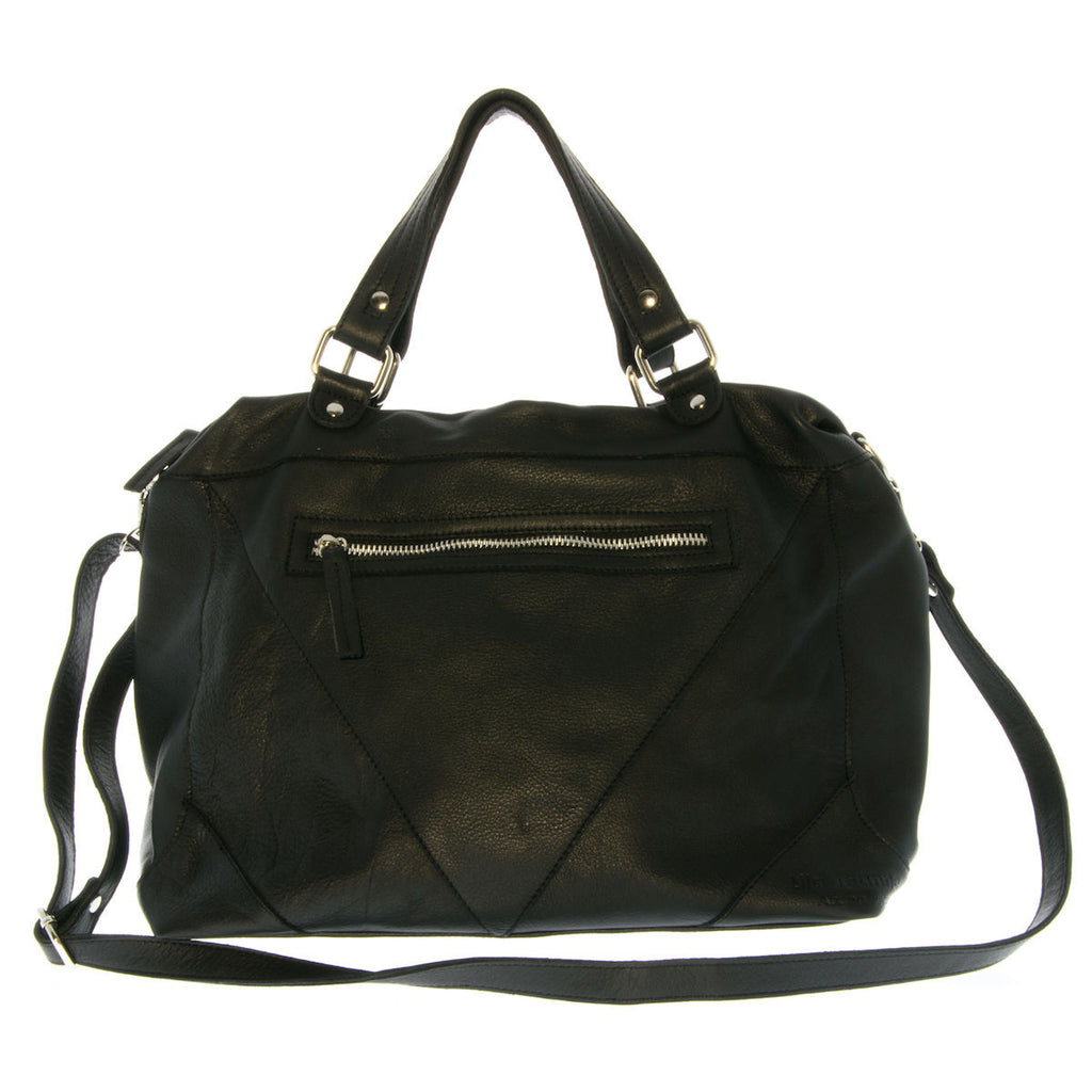 Laptop Leather Bag Mathilde Lila Jeanne