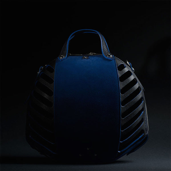 Blue Bee Leather Bag Nicolas Theil - Nicolas Theil