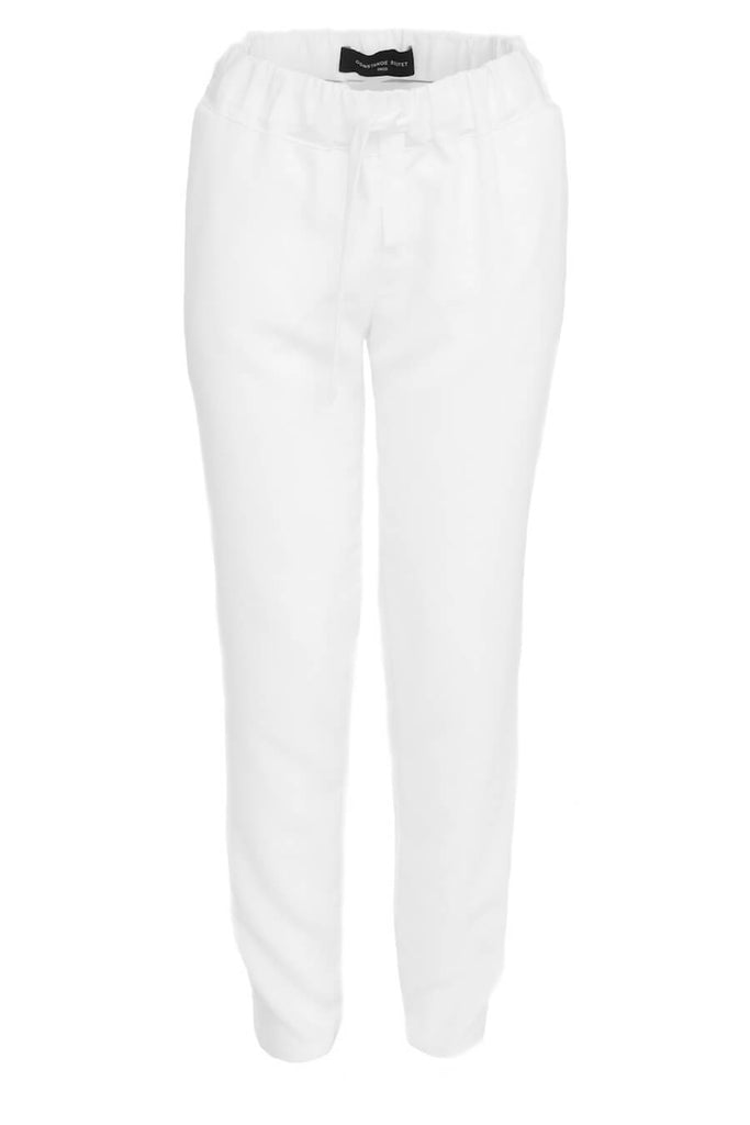 White sport chic pants - Constance Boutet