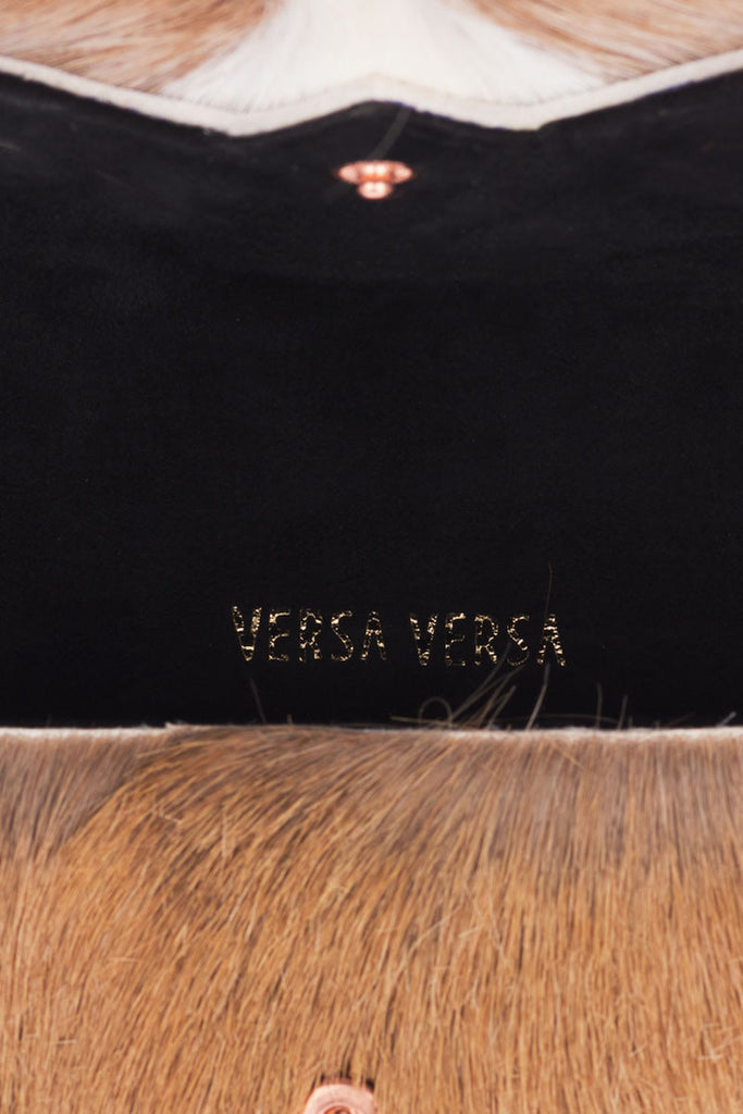 Fur handbag Scala Punk Natural by Versa Versa - Versa Versa
