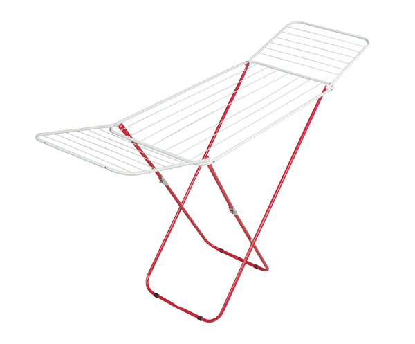Clothes Airer Rack Red