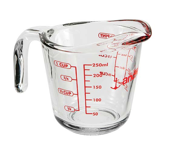 250ml Open Handle Measuring Jug