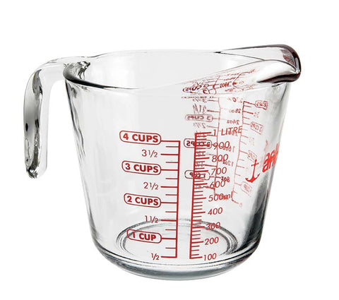 1 Litre Open Handle Measuring Jug