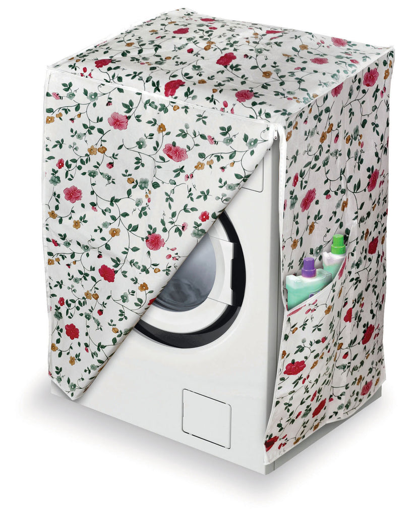 Washing Machine Cover - Floral Design