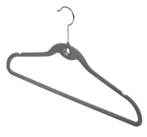 DomoPak 3pc Antislip Hangers Grey