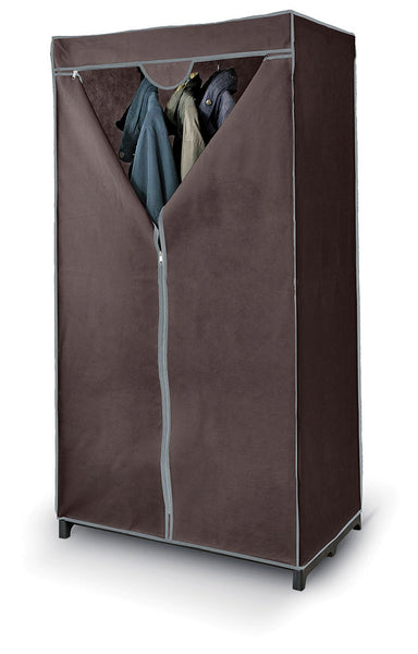 DomoPak Wardrobe Plain Brown