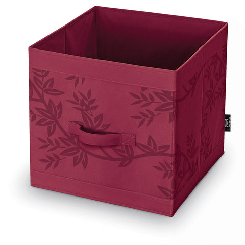 DomoPak Cube Box Red Leaf