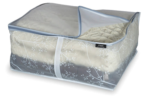 DomoPak Cover for Blankets White Leaf