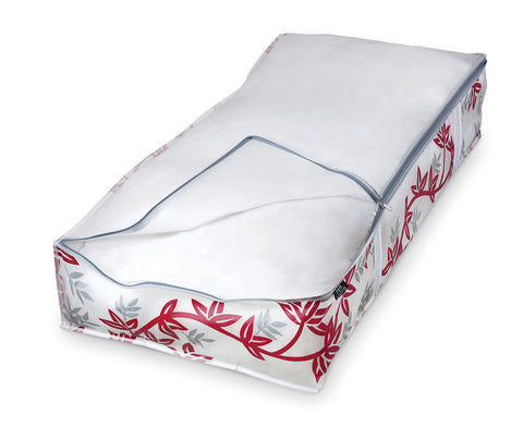 DomoPak Underbed cover for blankets Red Leaf