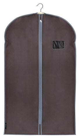 DomoPak Suit Cover Plain Brown
