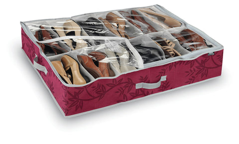 DomoPak Shoe Organiser Red Leaf