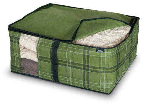 DomoPak Cover for Blankets Green Tartan