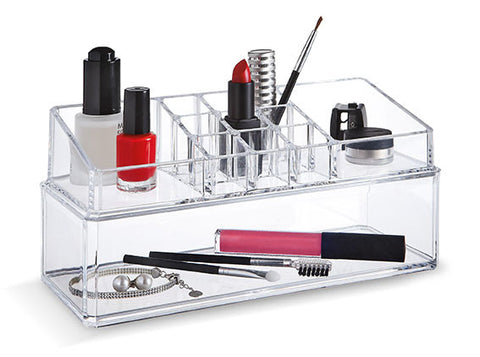 DomoPak Make-up Organiser - Double