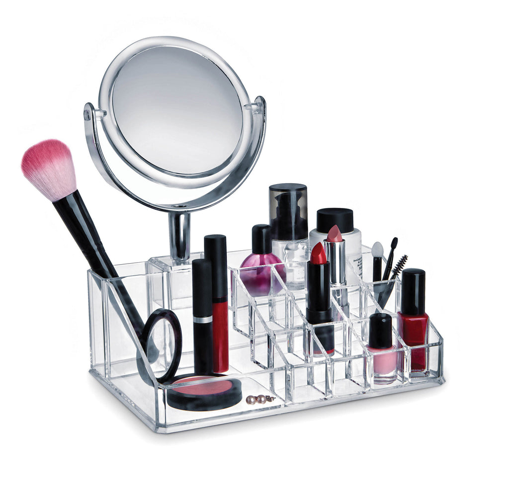 Make-up Organiser with mirror