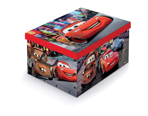 DomoPak Disney Box with handles Cars