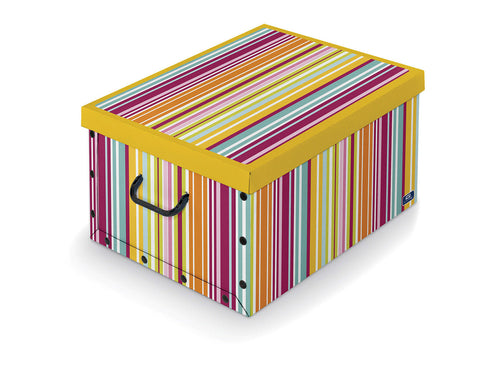 DomoPak Box with handles Mix B Stripes