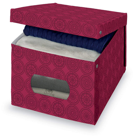 DomoPak Extra Large Garment Box Ella Purple