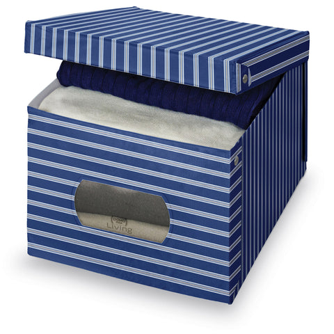 Extra Large Garment Box - Plain Blue