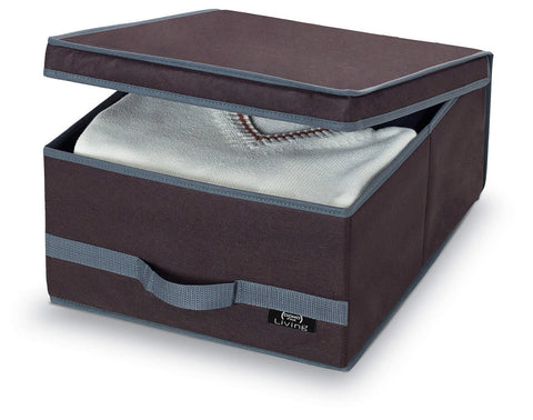 DomoPak Large Garment Box Plain Brown