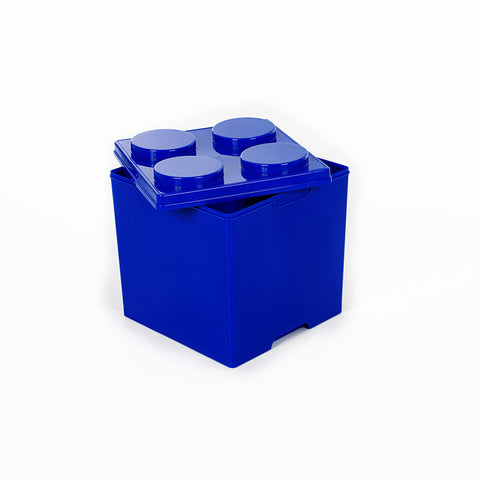Storeasy Junior Building Block Stackable Storage Box 35Ltr Blue