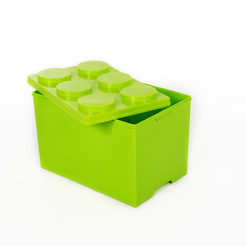 Storeasy Junior Building Block Stackable Storage Box 54Ltr Green