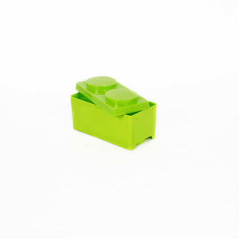 Storeasy Junior Building Block Stackable Storage Box 7.5Ltr Green